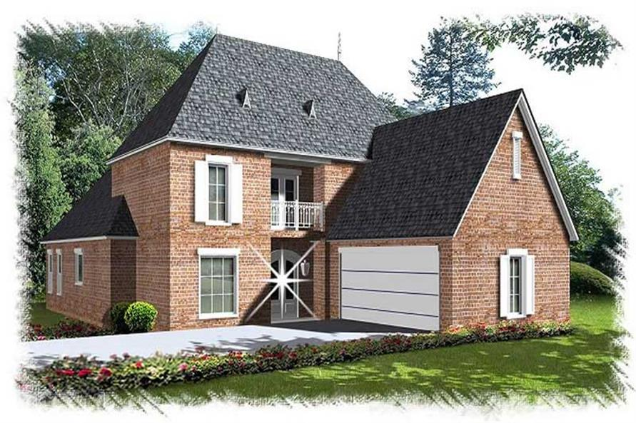 Main image for house plan # 9504