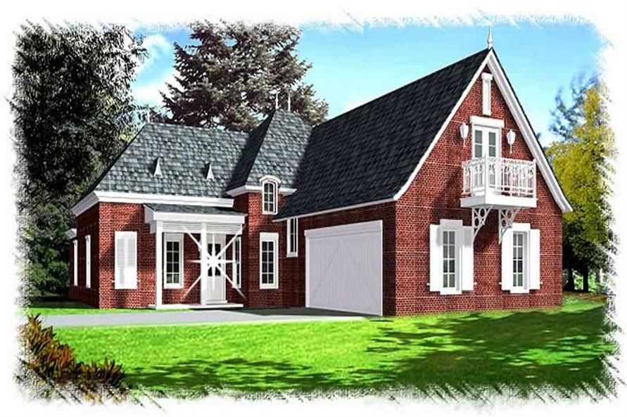 Main image for house plan # 9506