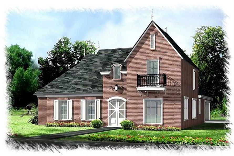 Main image for house plan # 9507