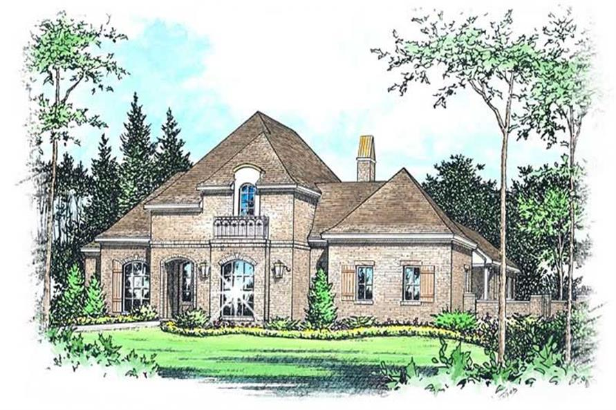 Main image for house plan # 9525