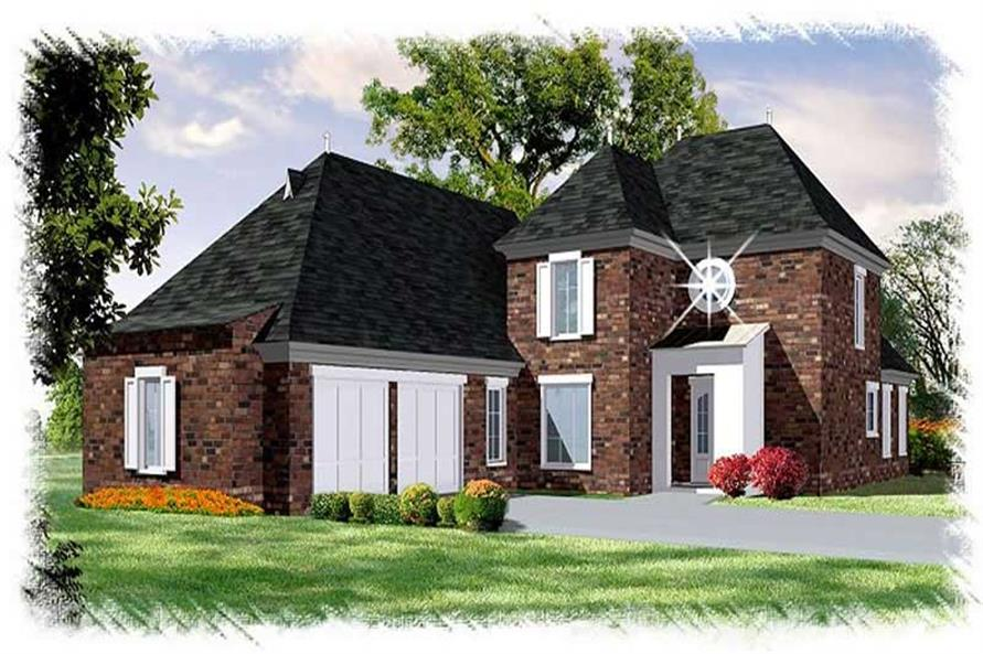 Main image for house plan # 9514