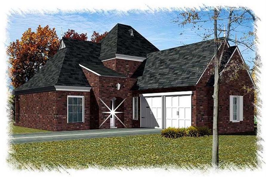 Main image for house plan # 9510
