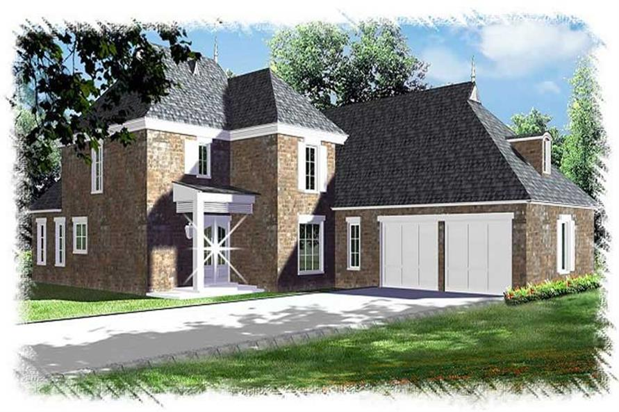 Main image for house plan # 9503