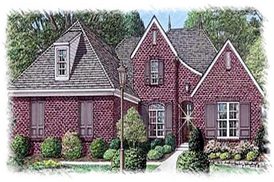 Main image for house plan # 9498
