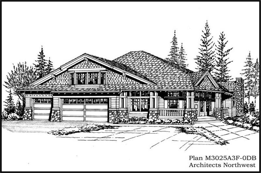 Main image for house plan # 14861