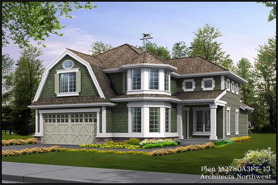 Main image for house plan # 14789