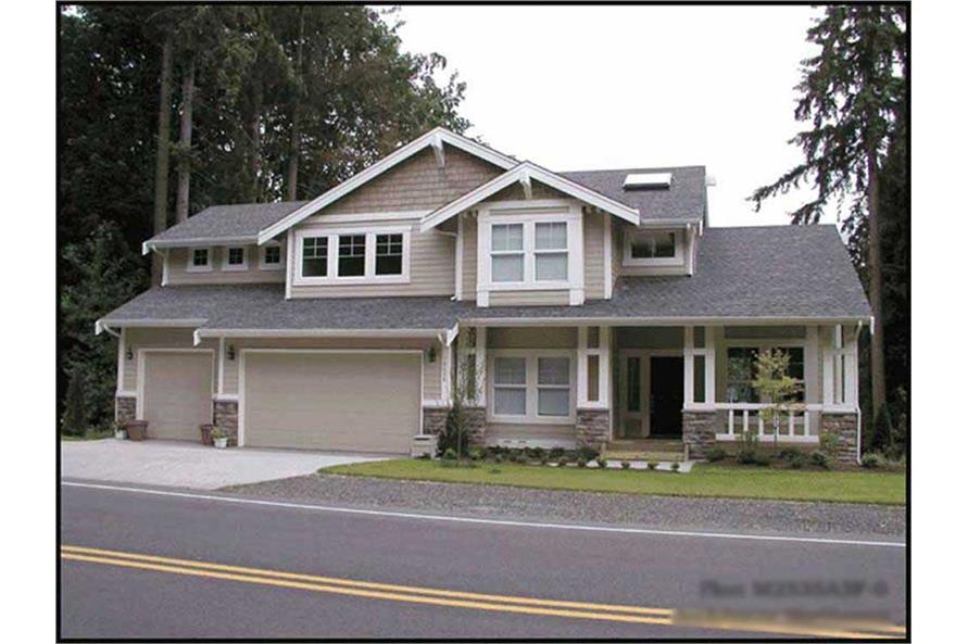 Main image for house plan # 14741