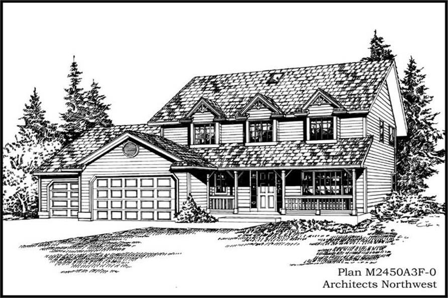 Main image for house plan # 14710