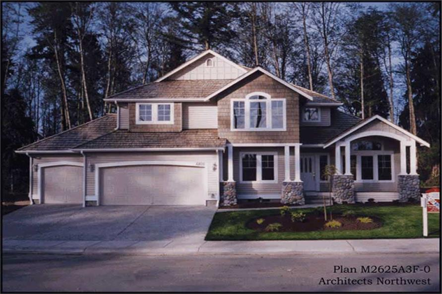 Main image for house plan # 14754
