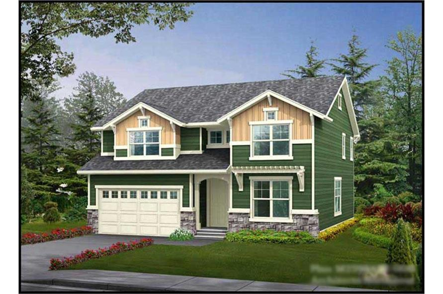 Main image for house plan # 14748