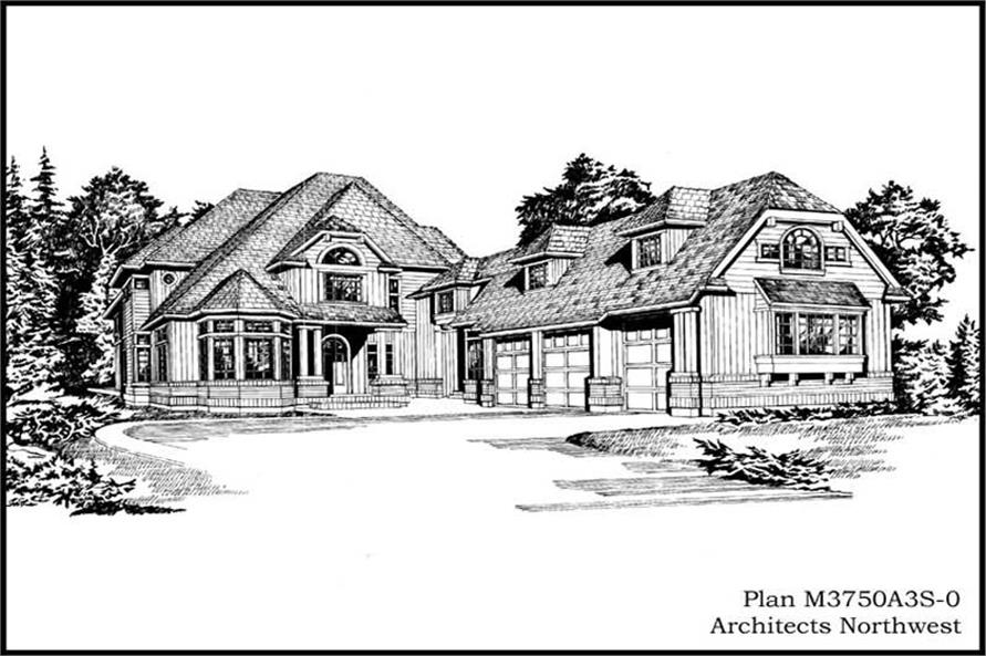 Main image for house plan # 15028