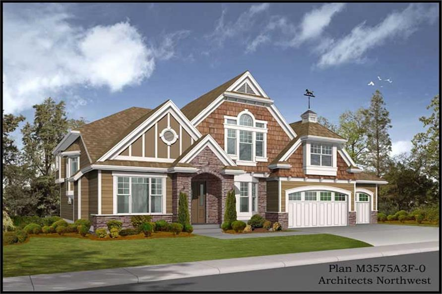 Main image for house plan # 14994
