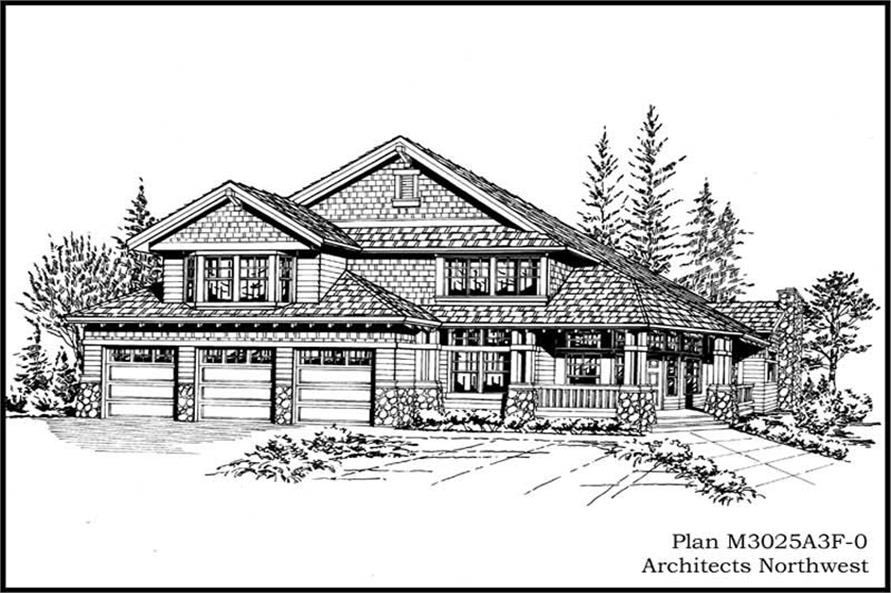 Main image for house plan # 14862