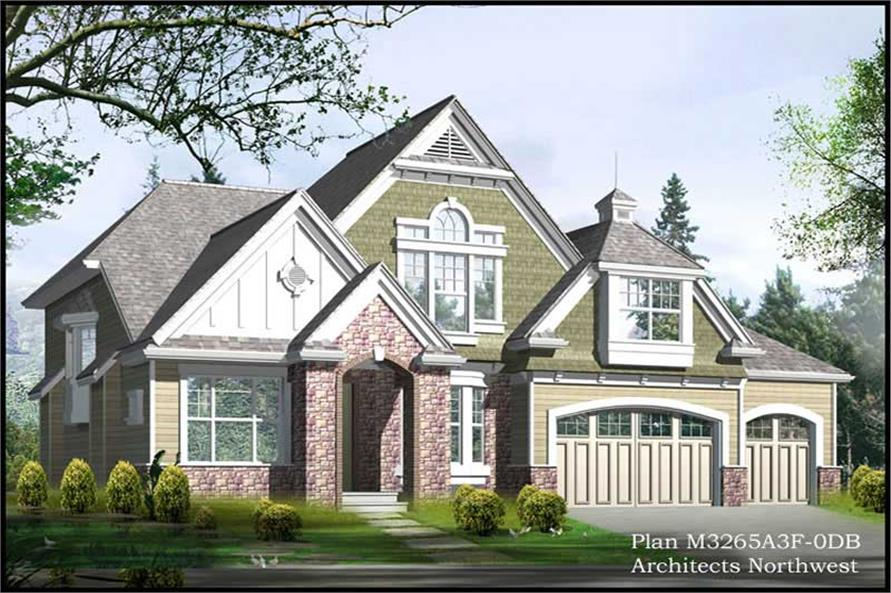 Main image for house plan # 14900