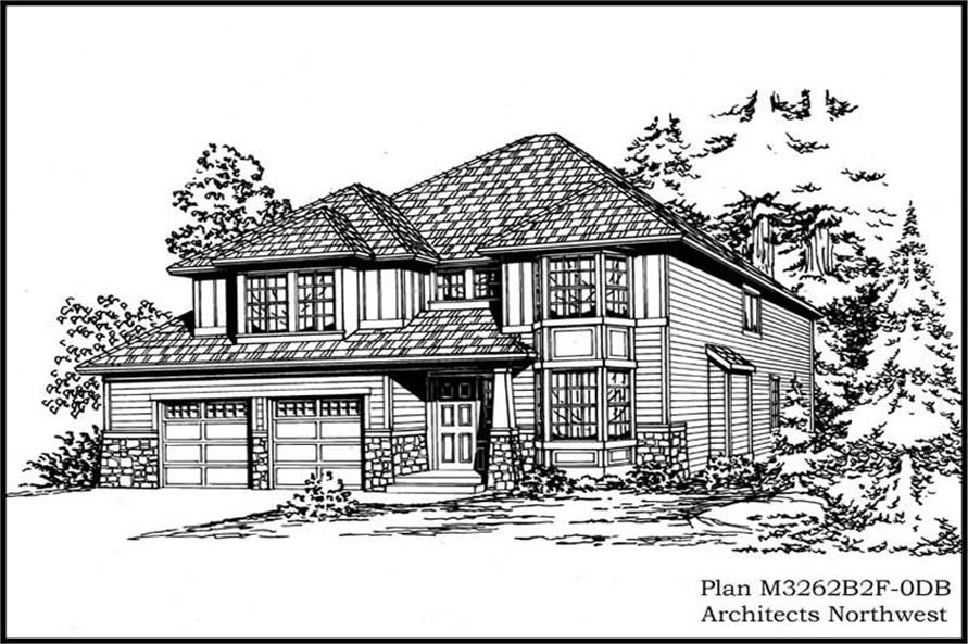 Main image for house plan # 14896