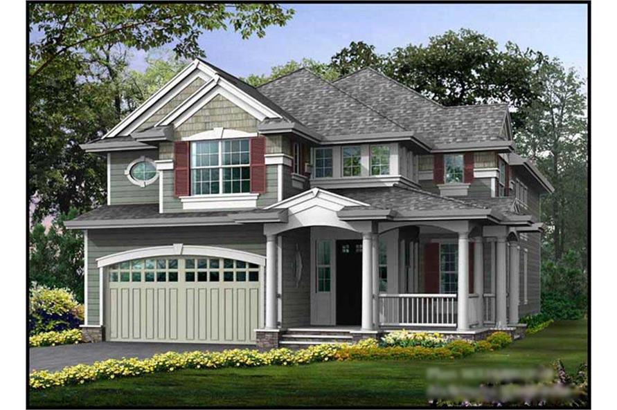 Main image for house plan # 14876