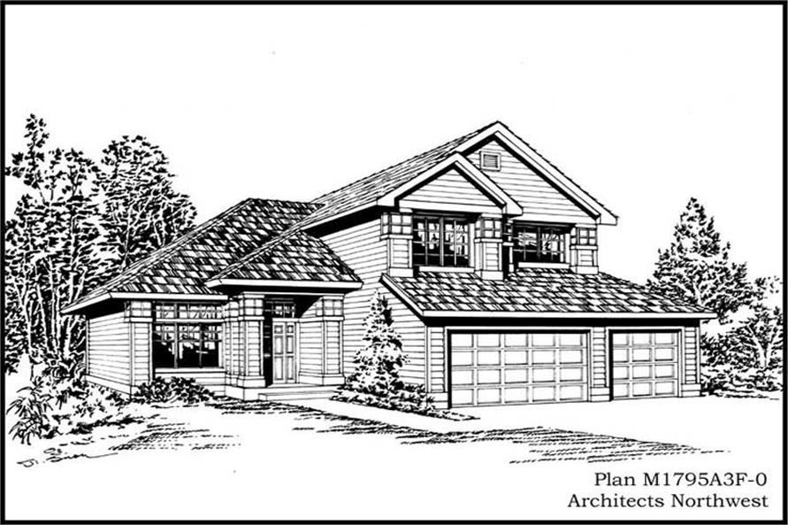 Main image for house plan # 14629