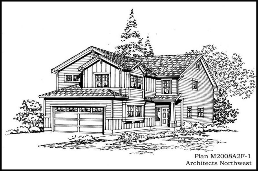 Main image for house plan # 14649