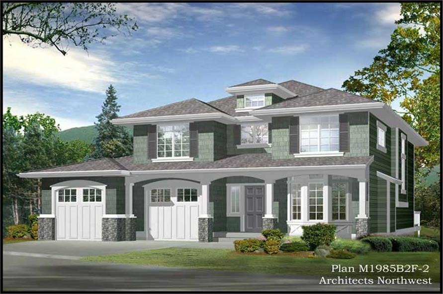 Main image for house plan # 14643