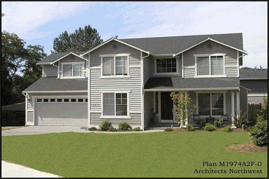 Main image for house plan # 14640