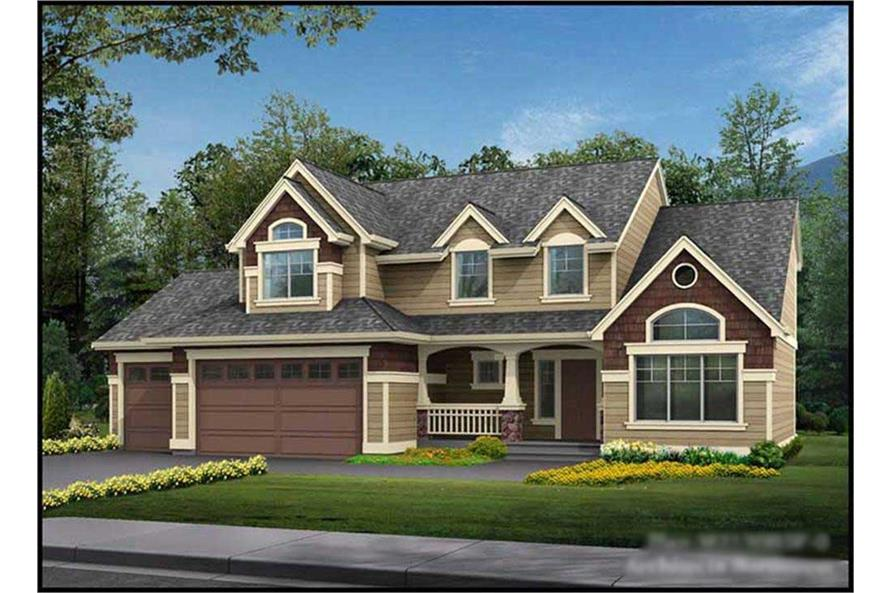 Main image for house plan # 14662