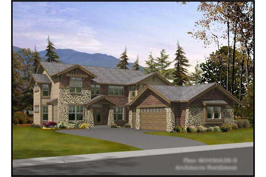 Main image for house plan # 14977