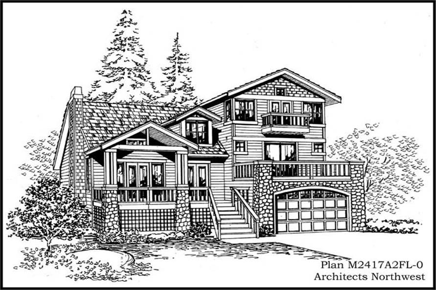 Main image for house plan # 14703
