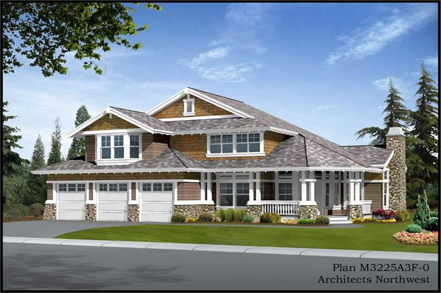 Main image for house plan # 14892
