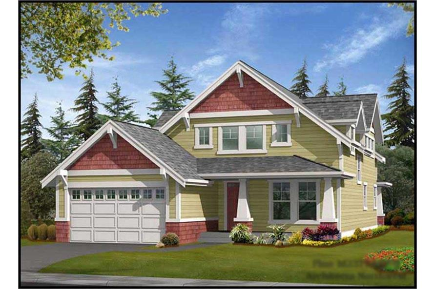 Main image for house plan # 14694