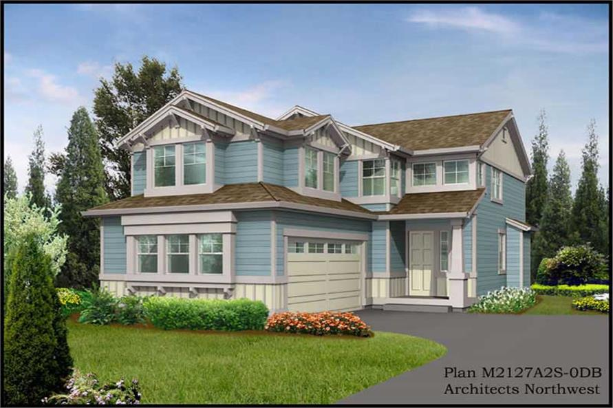 Main image for house plan # 14660