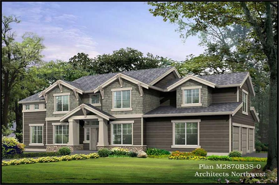 Main image for house plan # 14816