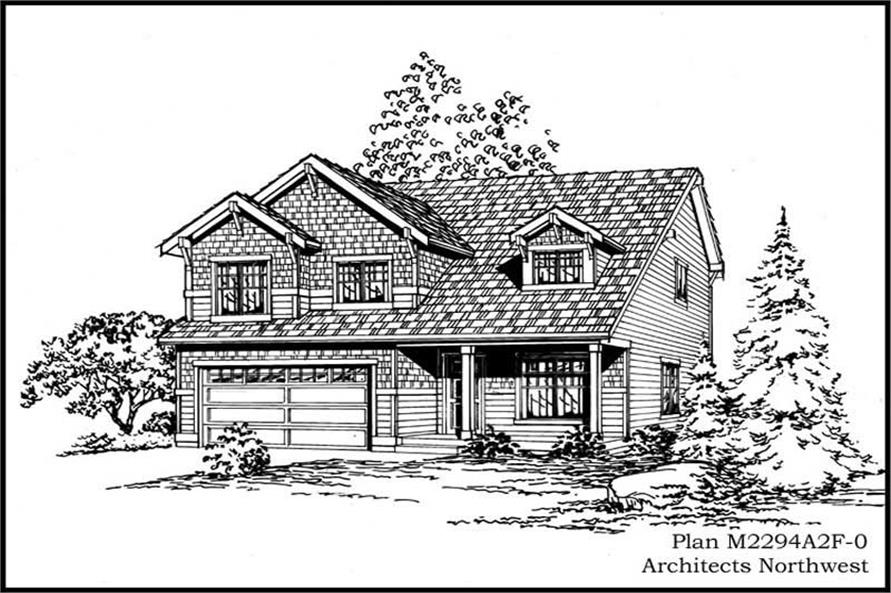 Main image for house plan # 14678