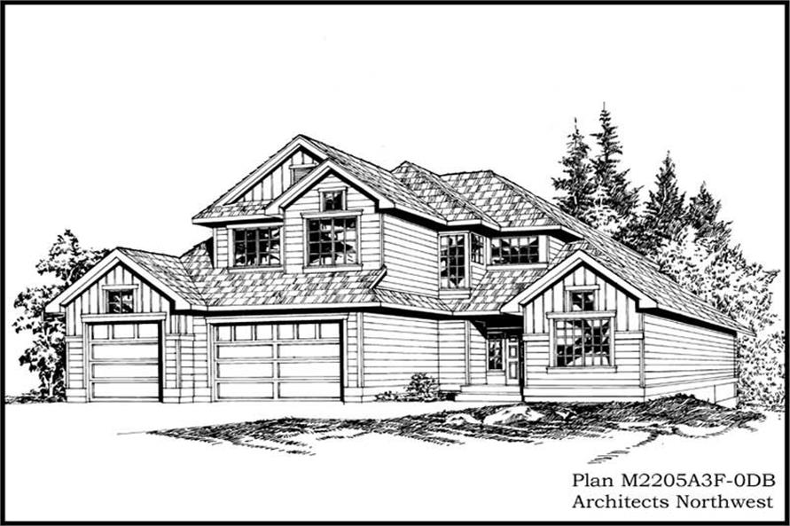 Main image for house plan # 14669