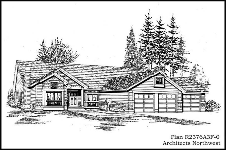 Main image for house plan # 15255