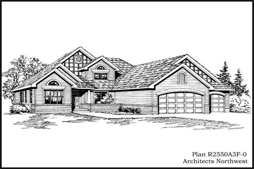 Main image for house plan # 15257