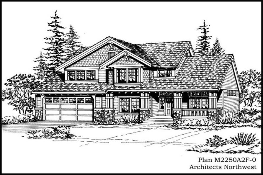 Main image for house plan # 15383