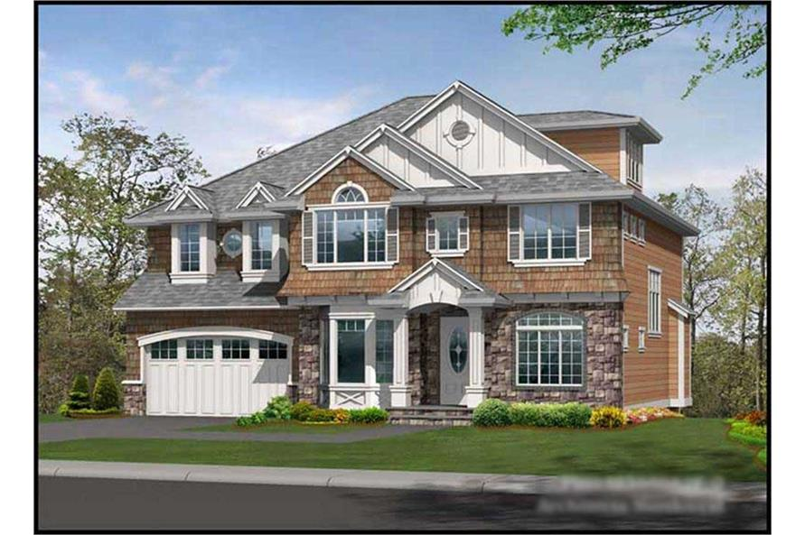 Main image for house plan # 14934