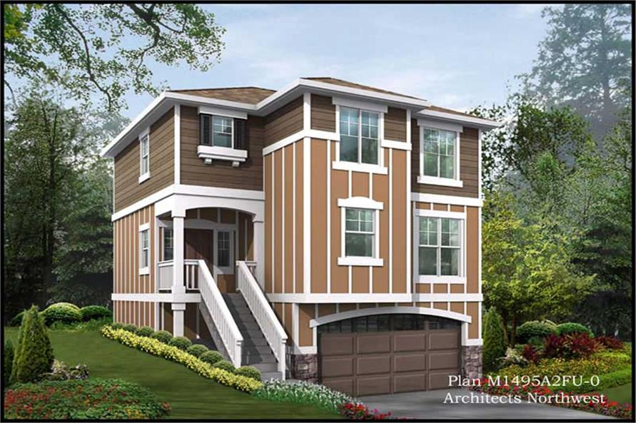 Main image for house plan # 14604
