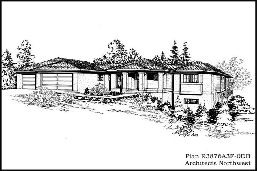 Main image for house plan # 15288