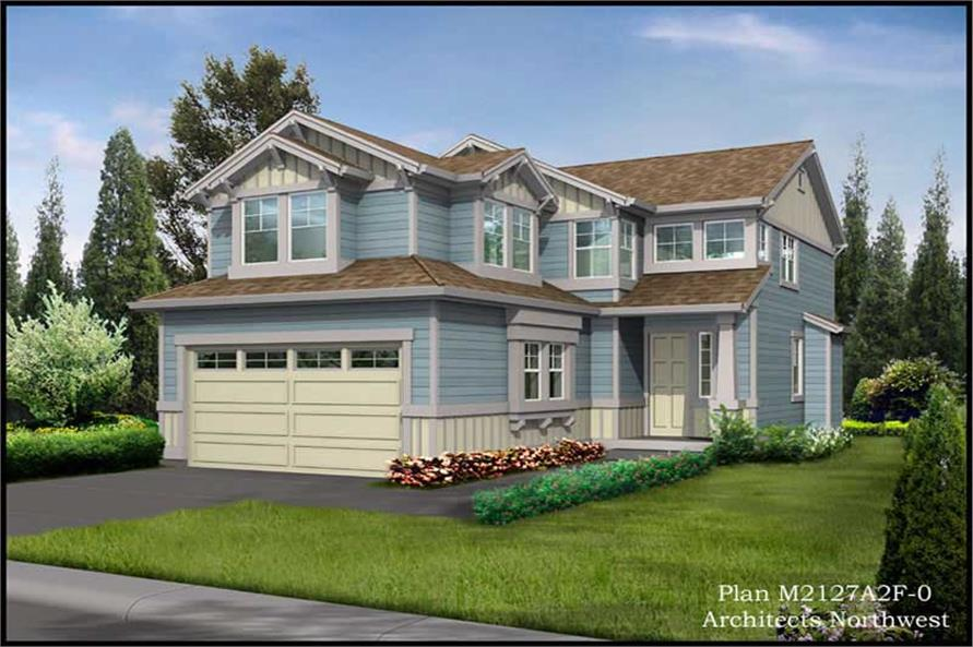 Main image for house plan # 15372