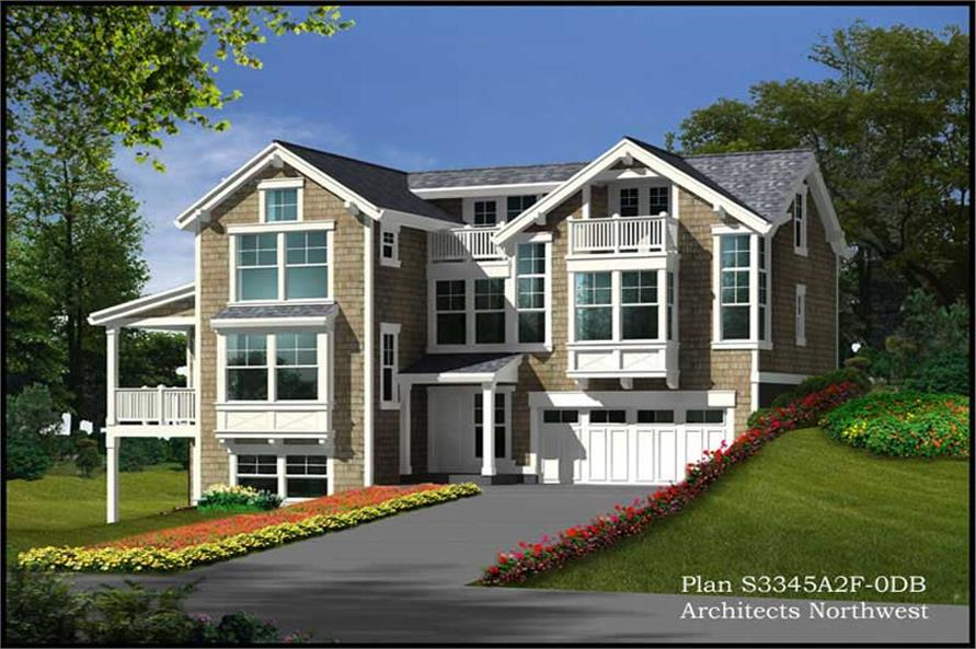 Main image for house plan # 15302