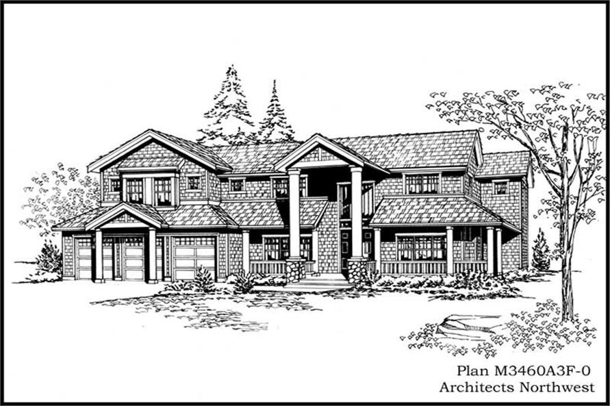 Main image for house plan # 14981