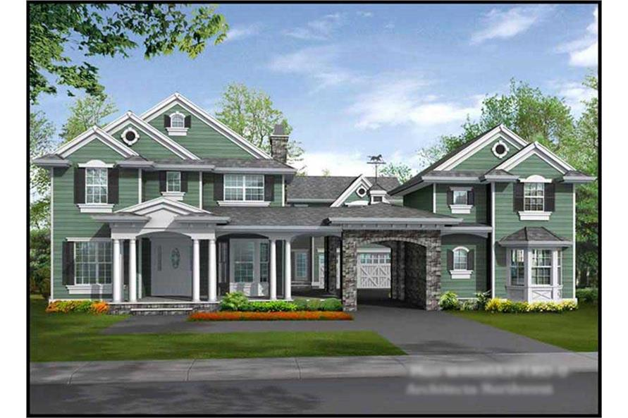 Main image for house plan # 15103