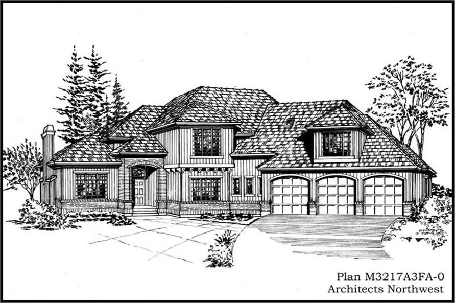Main image for house plan # 14890
