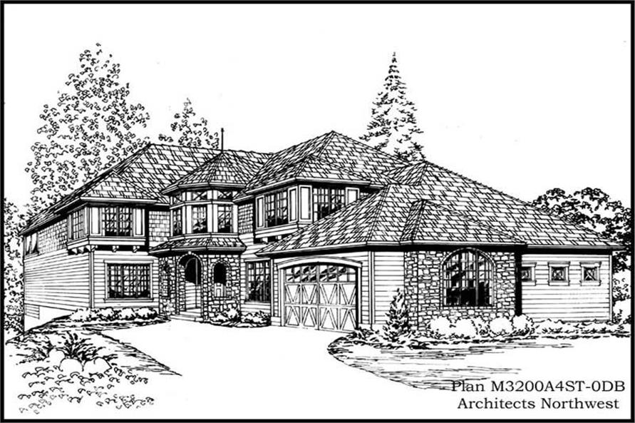 Main image for house plan # 14879