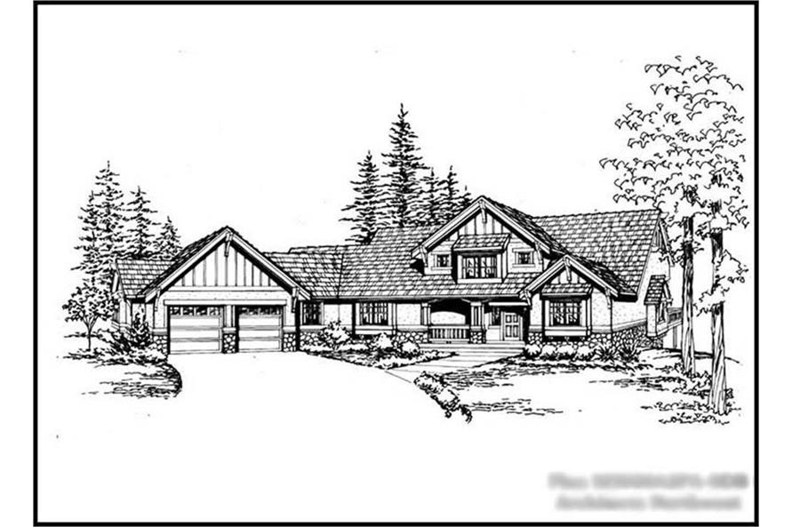 Main image for house plan # 14859
