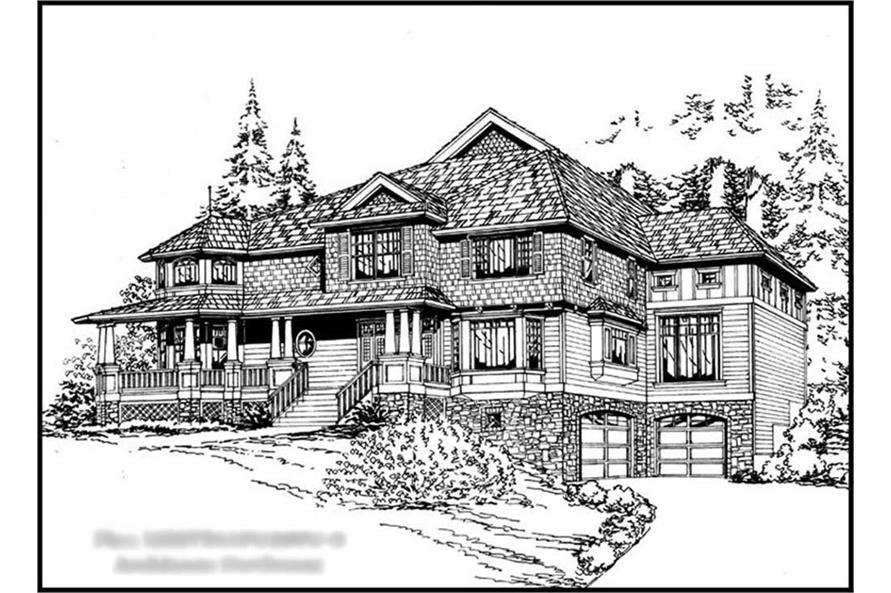 Main image for house plan # 15142