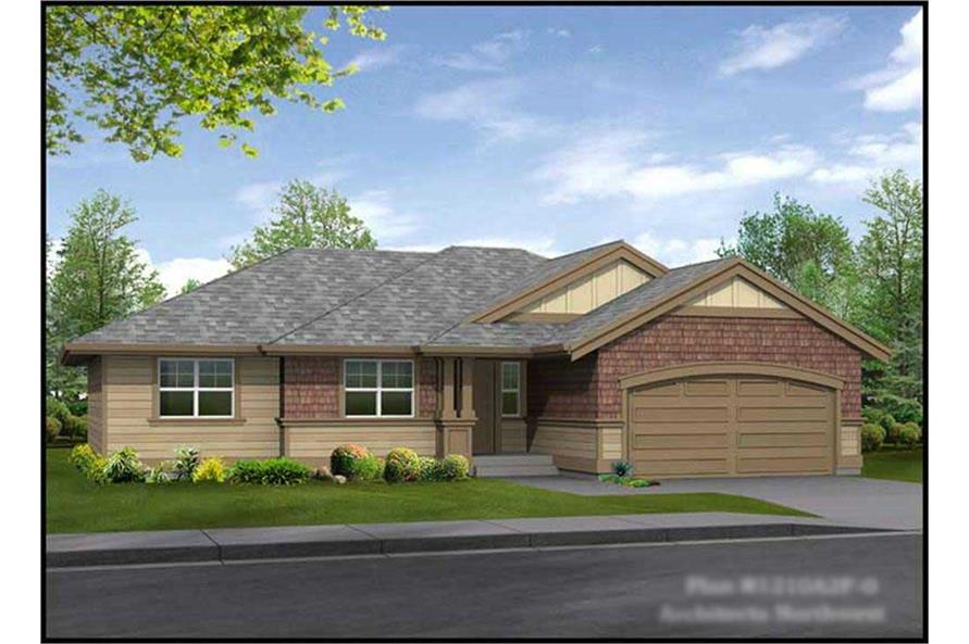 Main image for house plan # 15173