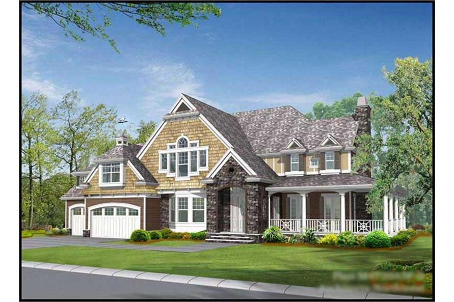 Main image for house plan # 15108
