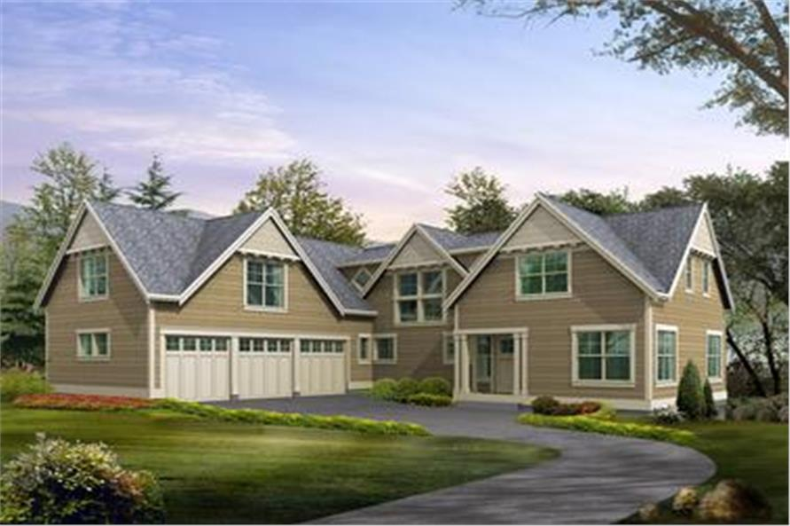 Main image for house plan # 15135